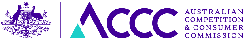 ACCC logo - online scams